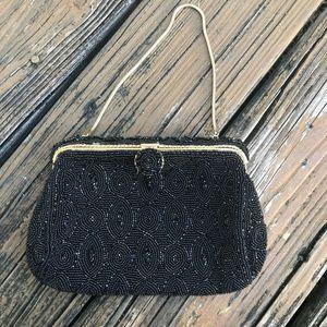 Vintage Beaded Sequin Purse Handbag Chilckraut